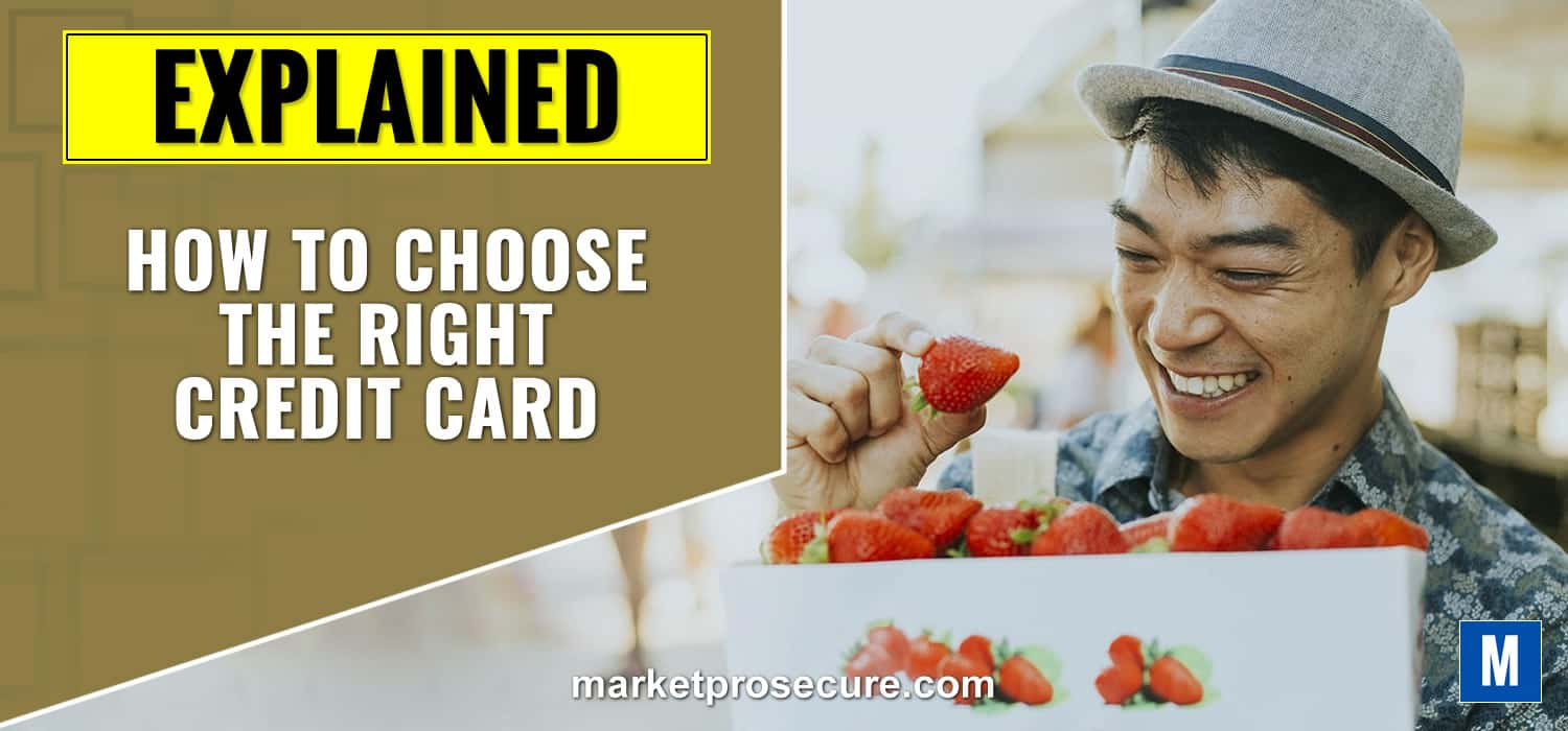How to choose right credit card