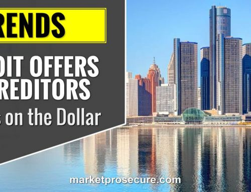 Detroit Offers Pennies on the Dollar to Creditors