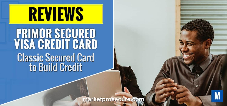 Primor Secured visa Classic Card review
