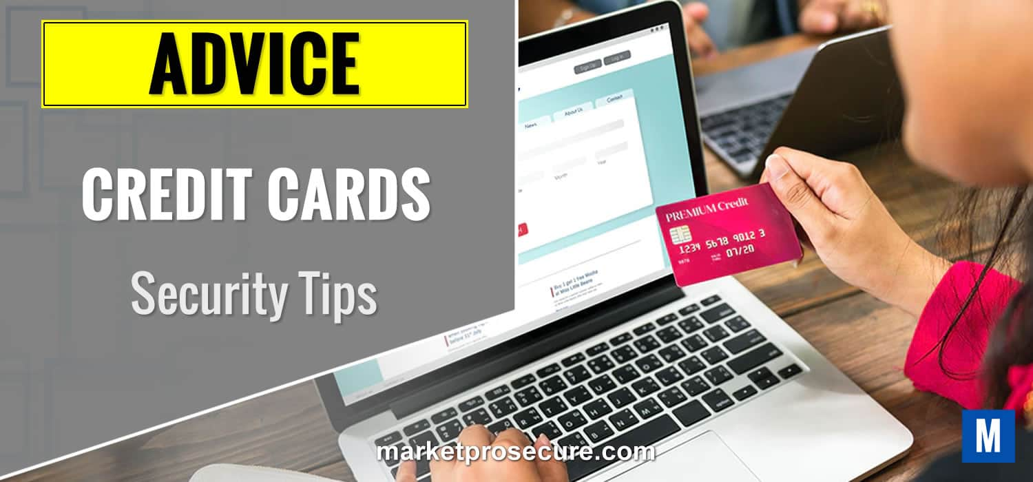 Credit Cards Security Tips