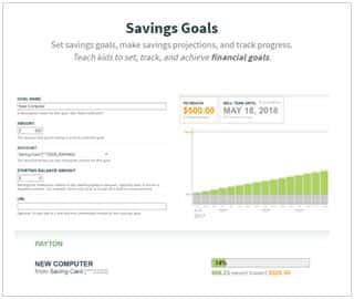 Famzoo savings goals