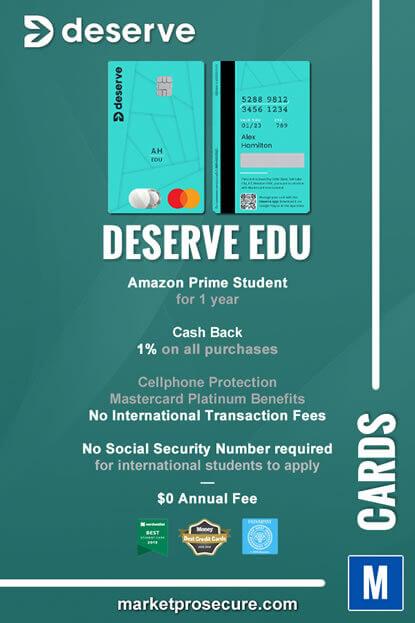 Deserve EDU Mastercard Recap