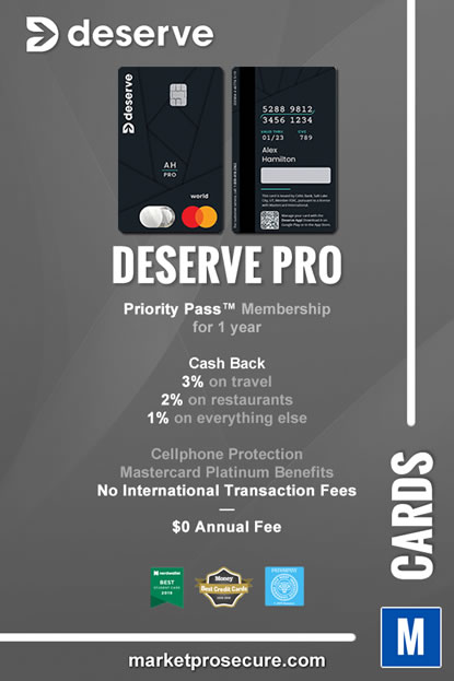 Deserve PRO Mastercard Recap