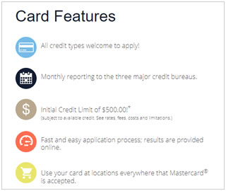 Surge Mastercard Features