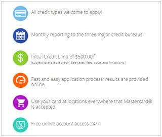 Reflex Mastercard Features