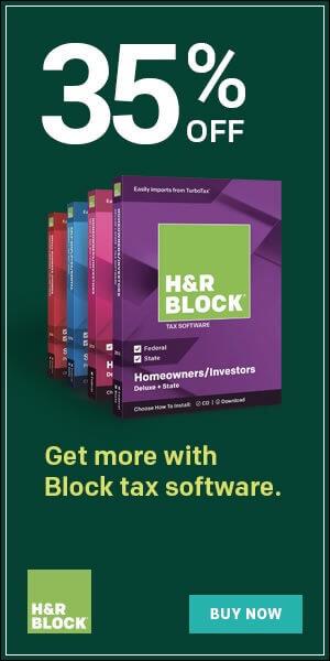 H&R Block - 35% OFF