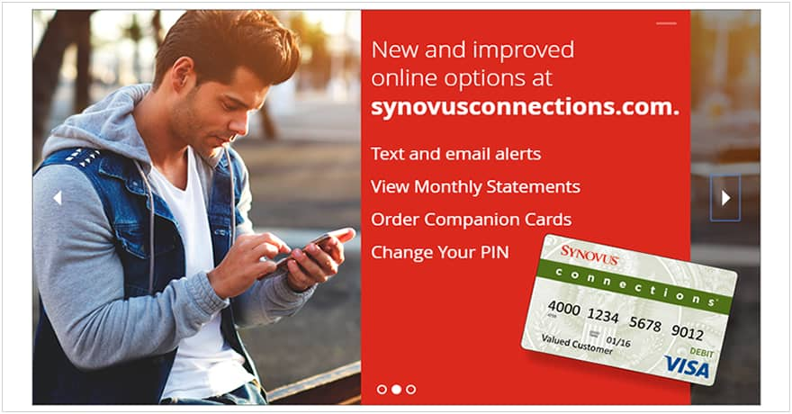 SYnovus COnnections Online Options