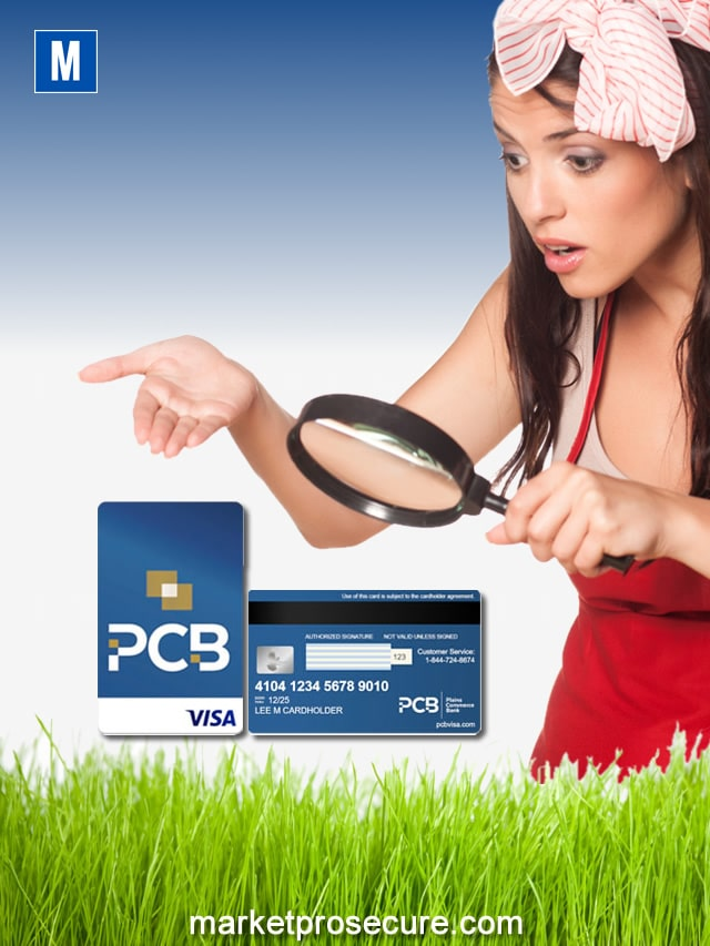 What is PCB Secured Visa Card